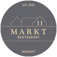 Restaurant Markt 11, Nunspeet Logo